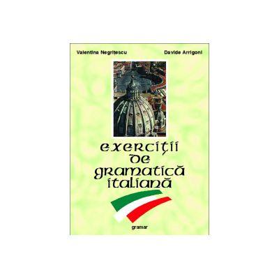 Exercitii de gramatica italiana