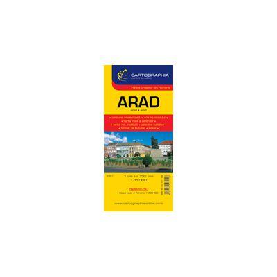 Hartă rutieră Arad