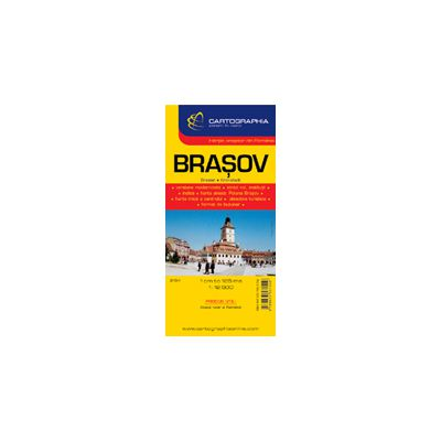 Hartă rutieră Braşov