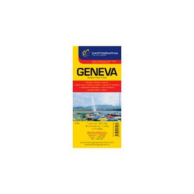 Hartă rutieră Geneva