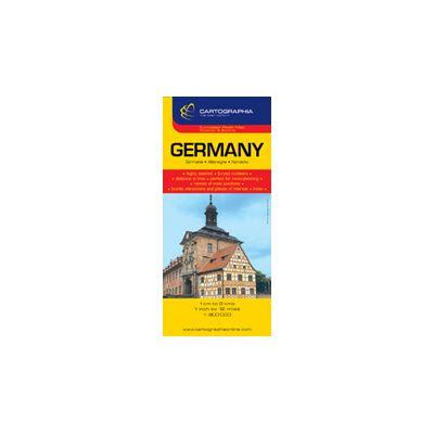 Hartă rutieră Germania