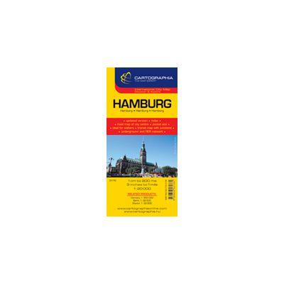 Hartă rutieră Hamburg