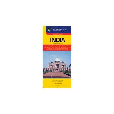 Hartă rutieră India