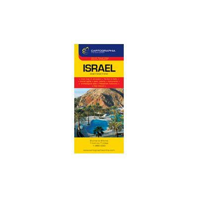 Hartă rutieră Israel