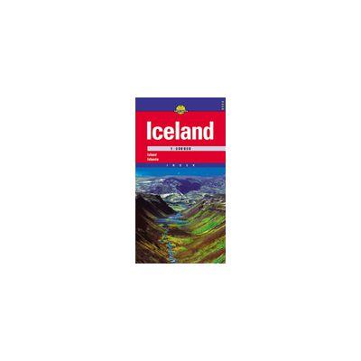 Hartă rutieră Iceland