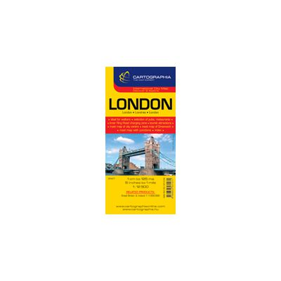 Hartă rutieră Londra