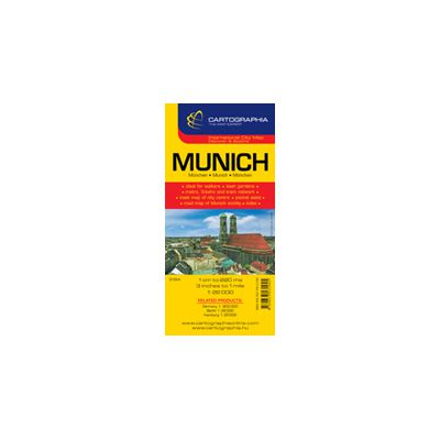 Hartă rutieră München
