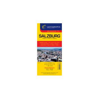Hartă rutieră Salzburg