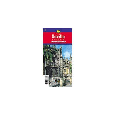 Hartă rutieră Sevilia