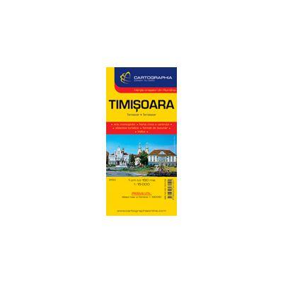 Hartă rutieră Timisoara