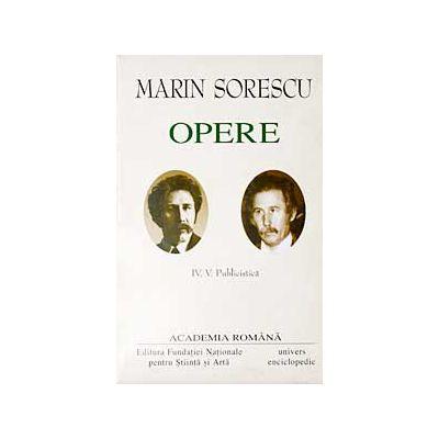 Opere. Volumul IV - V - M. SORESCU