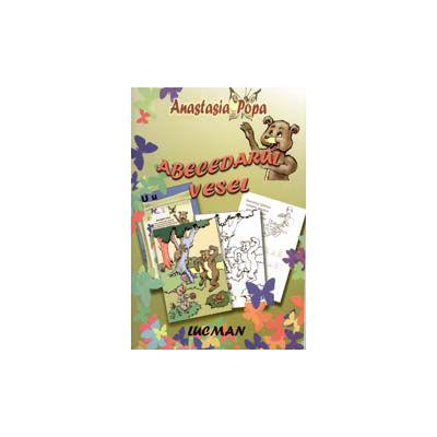 Abecedarul Vesel - Carte De Colorat Si Invatat Alfabetul