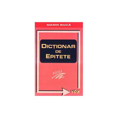 Dictionar de Epitete