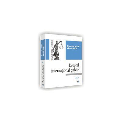 DREPT INTERNATIONAL PUBLIC - Vol. I