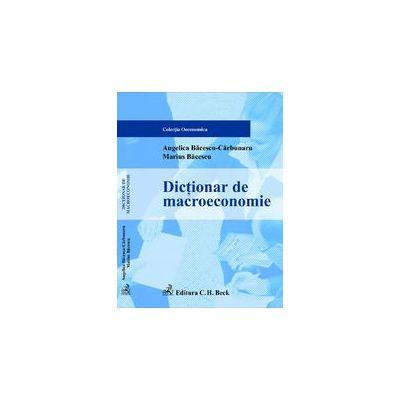 Dictionar de macroeconomie