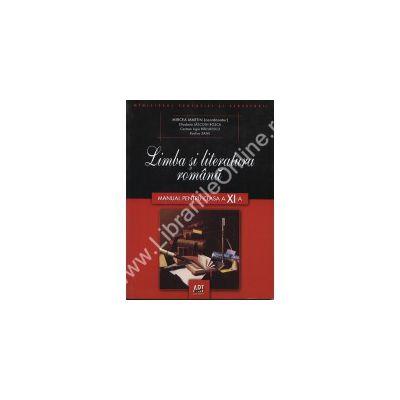Limba si literatura romana manual pentru clasa a XI-a - Martin