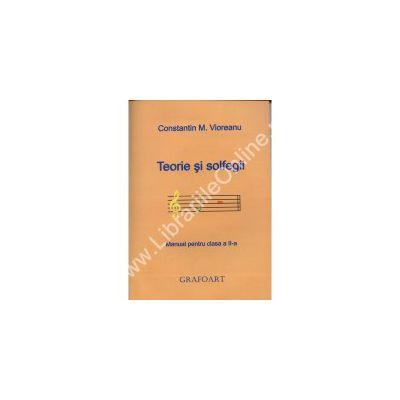 Teorie si solfegii manual pentru clasa a II-a