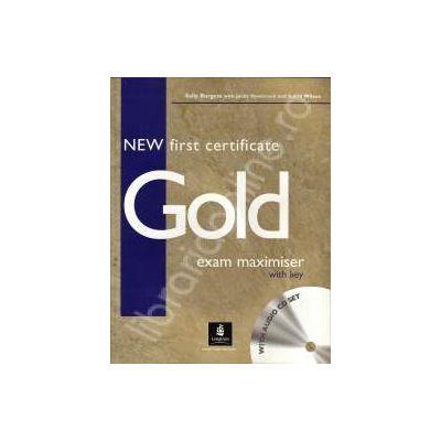 New FCE Gold.Caiet de exercitii L1 cl a X-a, L2 cl a XI-a