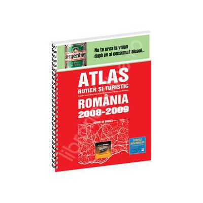 Atlas turistic si rutier. Romania 2008 si 2009