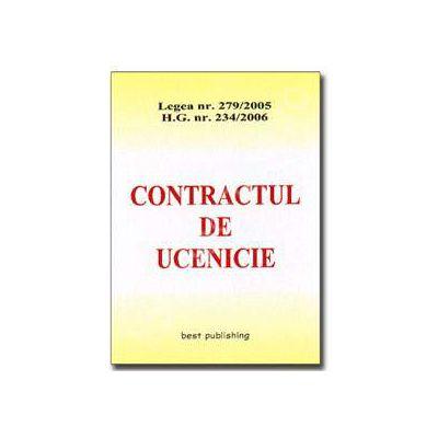Contractul de ucenicie. Editia I