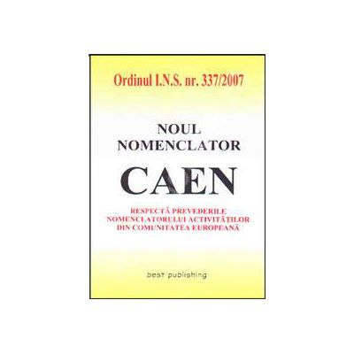 Noul nomenclator CAEN