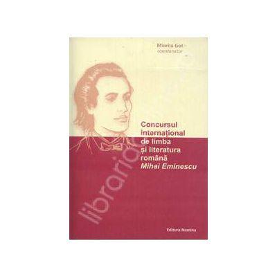 Concursul international de limba si literatura romana Mihai Eminescu