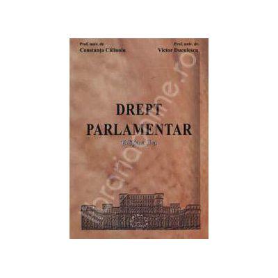 Drept parlamentar. Editia a II-a
