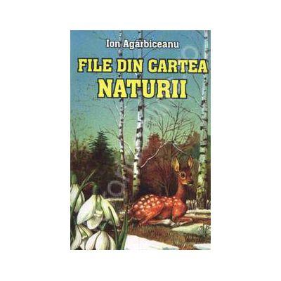 File din carte naturii