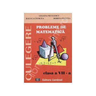 Probleme de matematica. Culegere, clasa a VII-a