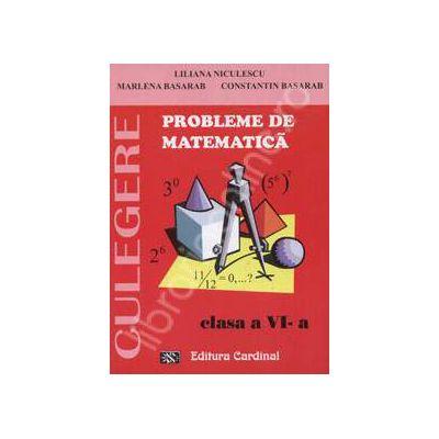Probleme de matematica. Culegere, clasa a VI-a