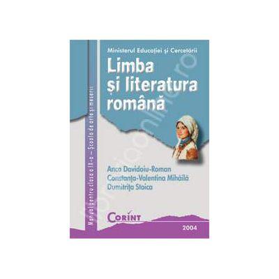 Limba si literatura romana clasa a IX-a SAM