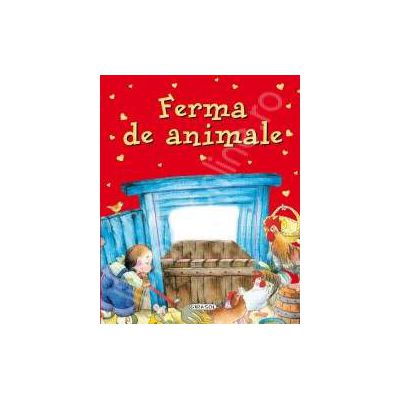 Ferma de animale(carte cu fereastra)