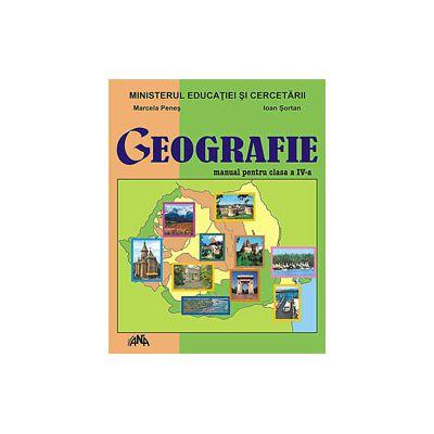 Geografie manual pentru clasa a IV-a (Marcela Penes)