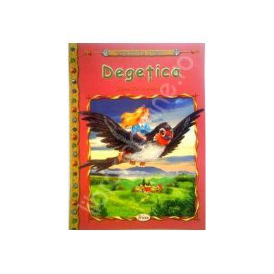 Degetica, carte ilustrata pentru copii (Colectia Comorile Lumii)