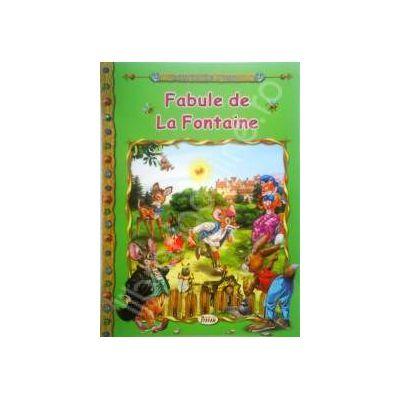 Fabule de la Fontaine, carte ilustrata pentru copii (Colectia Comorile Lumii)