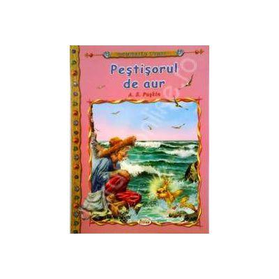 Pestisorul de aur, carte ilustrata pentru copii (Colectia Comorile Lumii)