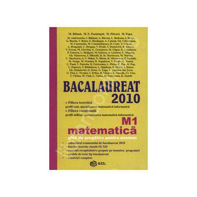 Bacalaureat 2010 Matematica M1