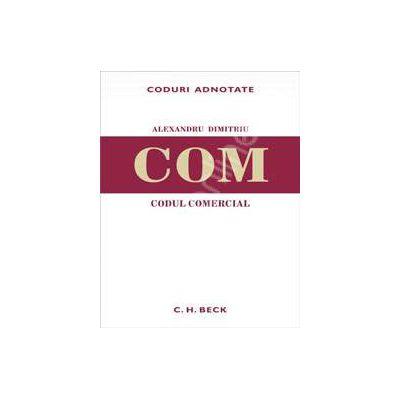Codul comercial - COM. CODURI ADNOTATE