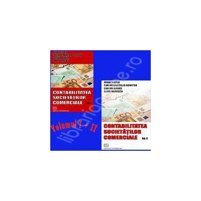 Contabilitatea societatilor comerciale. Volumul I si II
