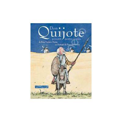 Don Quijote povestit pentru copii