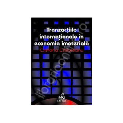 Tranzactii internationale in economia imateriala
