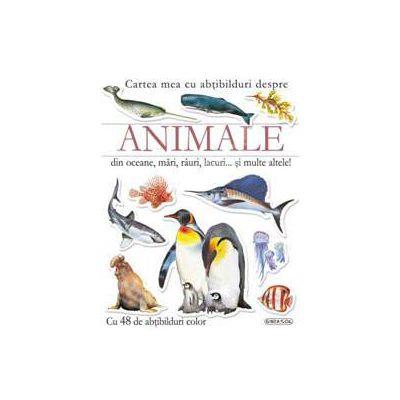 Animale din oceane, mari, rauri, lacuri… si multe altele!contine 48 abtibilduri