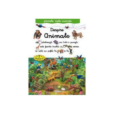 Despre animale - primele mele cuvinte