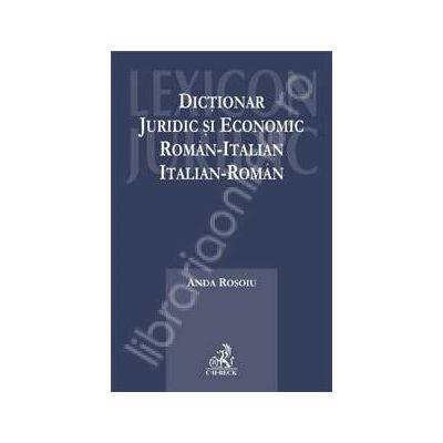 Dictionar juridic si economic roman-italian, italian-roman