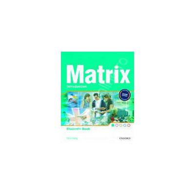 Matrix Introduction Teachers Book