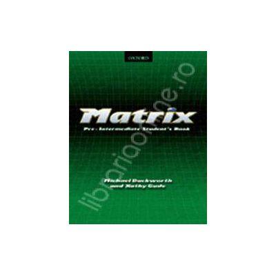 Matrix Pre-Intermediate Workbook