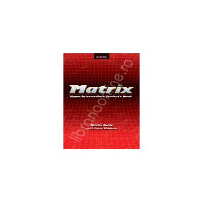 Matrix Upper Intermediate Workbook