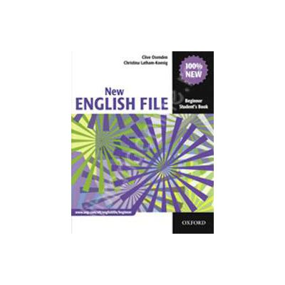 New English File Beginner Workbook with Answer Booklet and MultiROM