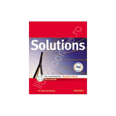Solutions Pre-Intermediate iTools CD-ROM