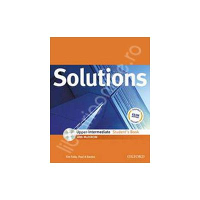Solutions Upper Intermediate Workbook